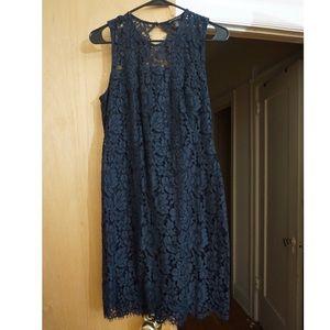 Banana Republic - Blue Lacy Dress